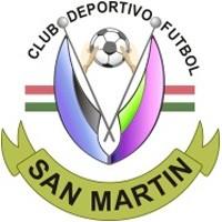 Escudo del Club Deportivo Fútbol San Martín