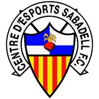 Escudo del Centre d'Esports Sabadell Futbol Club, SAD