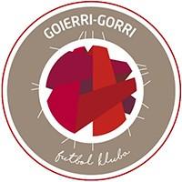 Escudo del Goierri Gorri Futbol Kluba