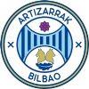 Escudo del Alevín del Bilbao Artizarrak Futbol Klub