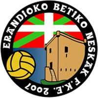 Escudo del Erandioko Betiko Neskak Futbol Kirol Elkartea