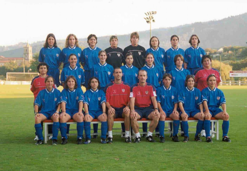 Foto de la plantilla del Athletic Club de Bilbao B