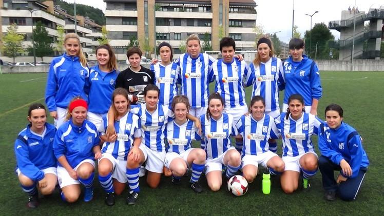 Foto de la plantilla del Sociedad Deportiva Beasain