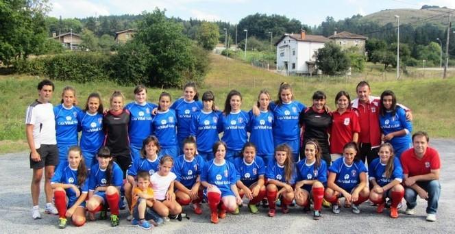 Foto de la plantilla del Club Deportivo Laudio