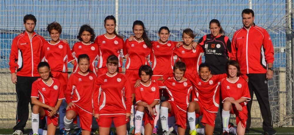 Foto de la plantilla del Cadete del Club Deportivo Kirol Sport