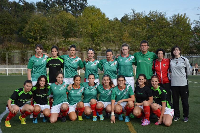 Foto de la plantilla del Club Deportivo Lantarón