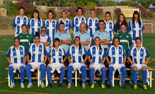 Foto de la plantilla del Sporting Club de Huelva