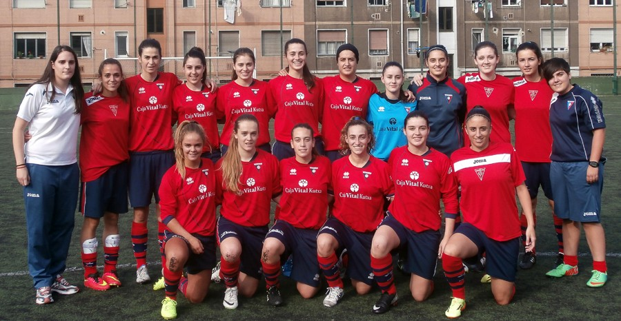 Foto de la plantilla del Club Deportivo Aurrera de Vitoria