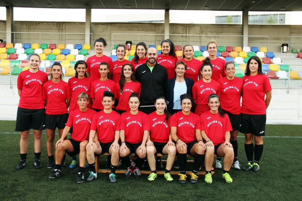 Foto de la plantilla del Mulier Fútbol Club Navarra