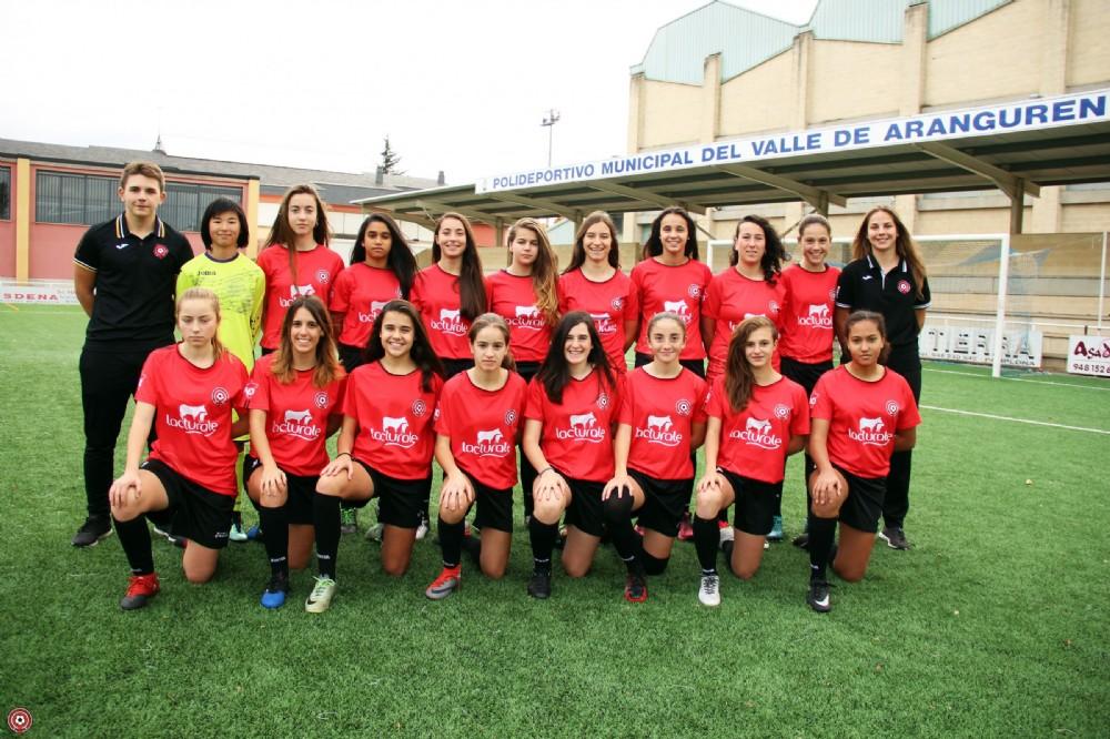 Foto de la plantilla del Mulier Fútbol Club Navarra B