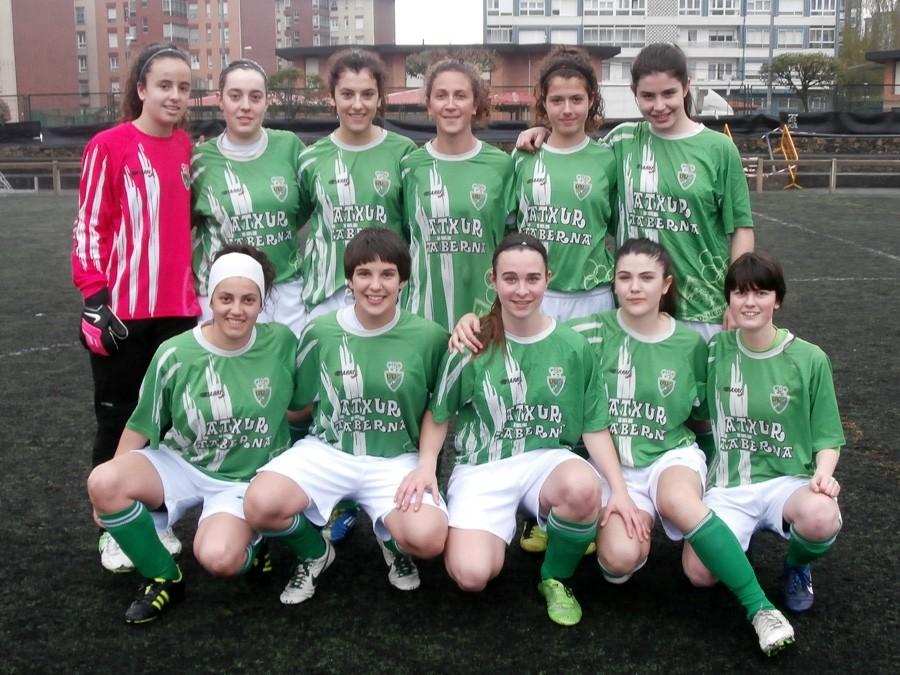 Foto de la plantilla del Club Deportivo Hernani