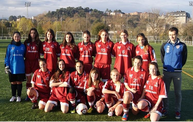 Foto de la plantilla del Bizkerre Futbol Taldea B (Cadete-Juvenil)