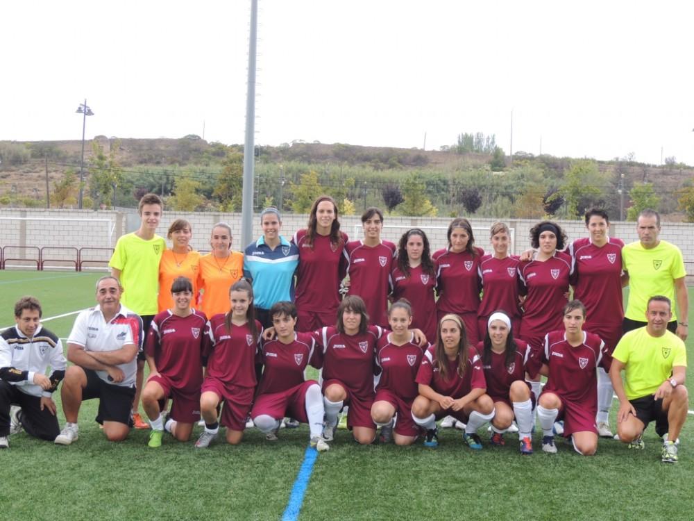 Foto de la plantilla del Escuelas de Futbol de Logroño