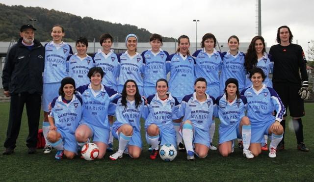 Foto de la plantilla del Club Deportivo Mariño Kirol Kluba