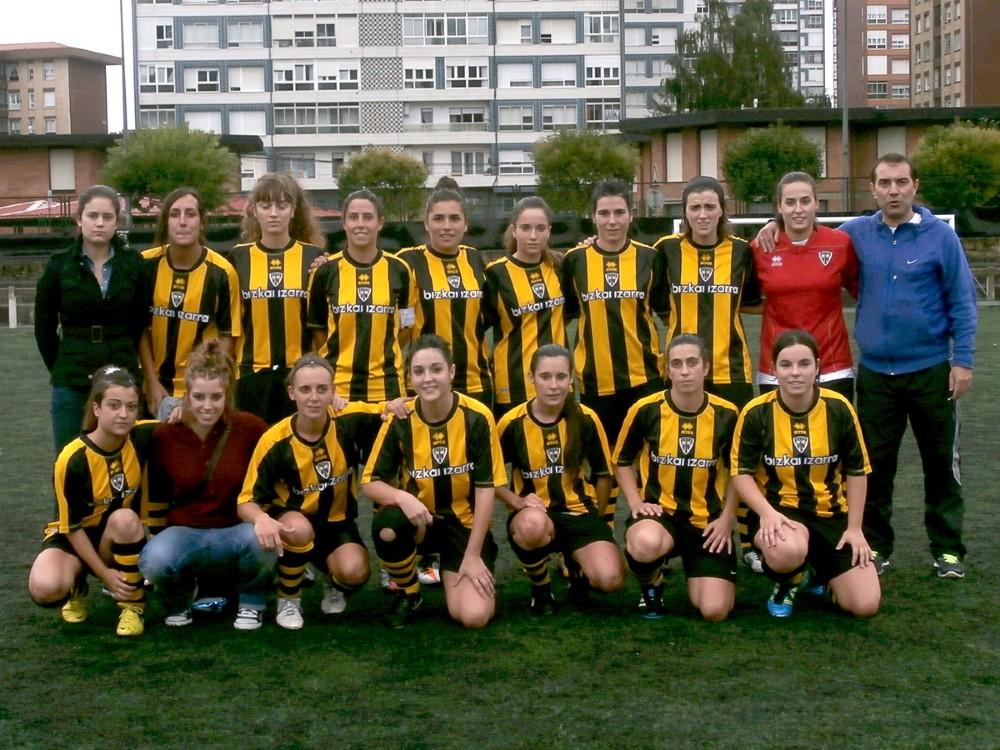 Foto de la plantilla del Barakaldo Club de Fútbol