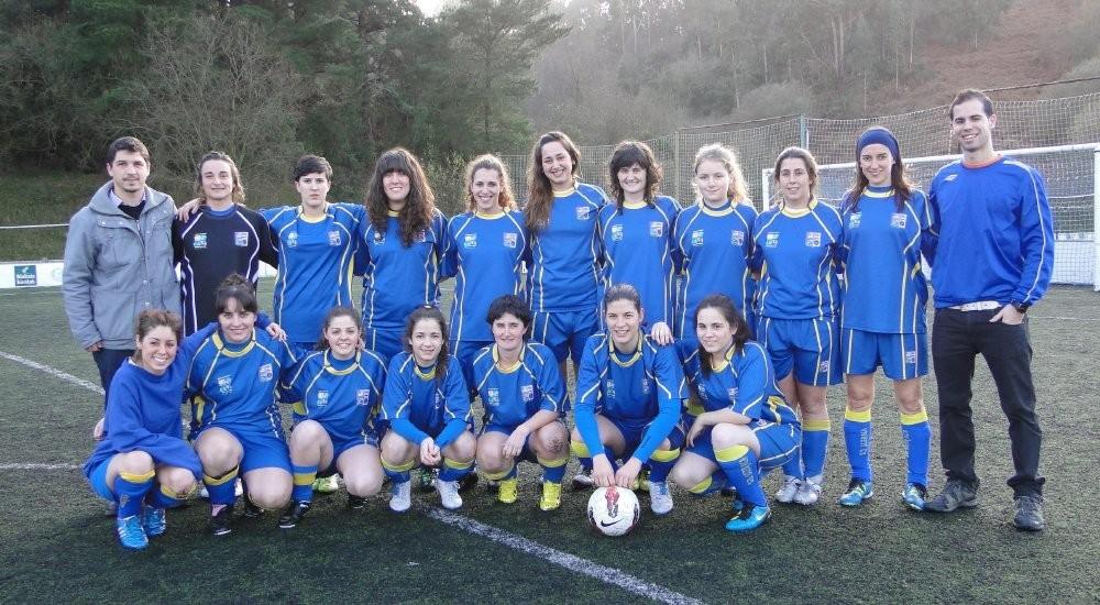 Foto de la plantilla del Ugeraga Sociedad Deportiva
