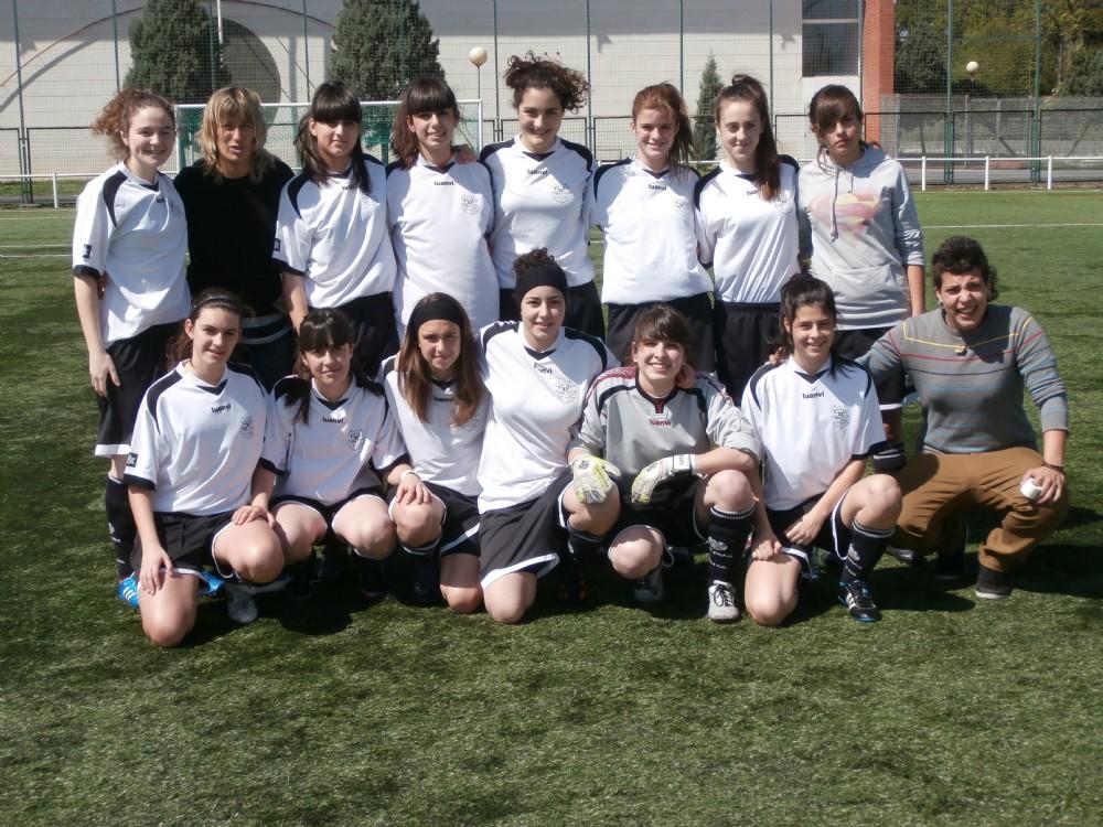 Foto de la plantilla del Cadete-Juvenil del Club Deportivo Ugao
