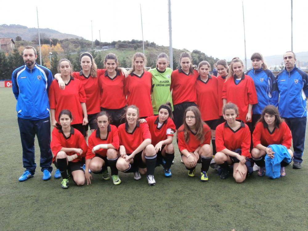 Foto de la plantilla del Sociedad Deportiva Plentzia (Cadete-Juvenil)