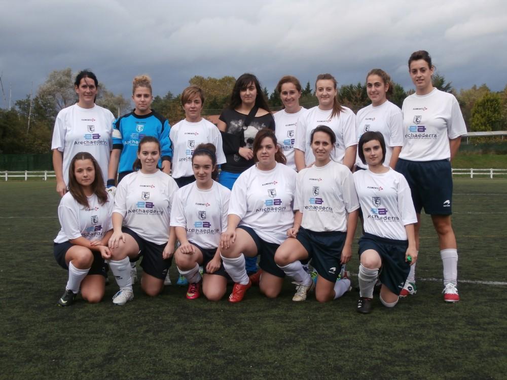 Foto de la plantilla del Enkarterri Neskak Futbol Kirol Elkartea - Gueñes