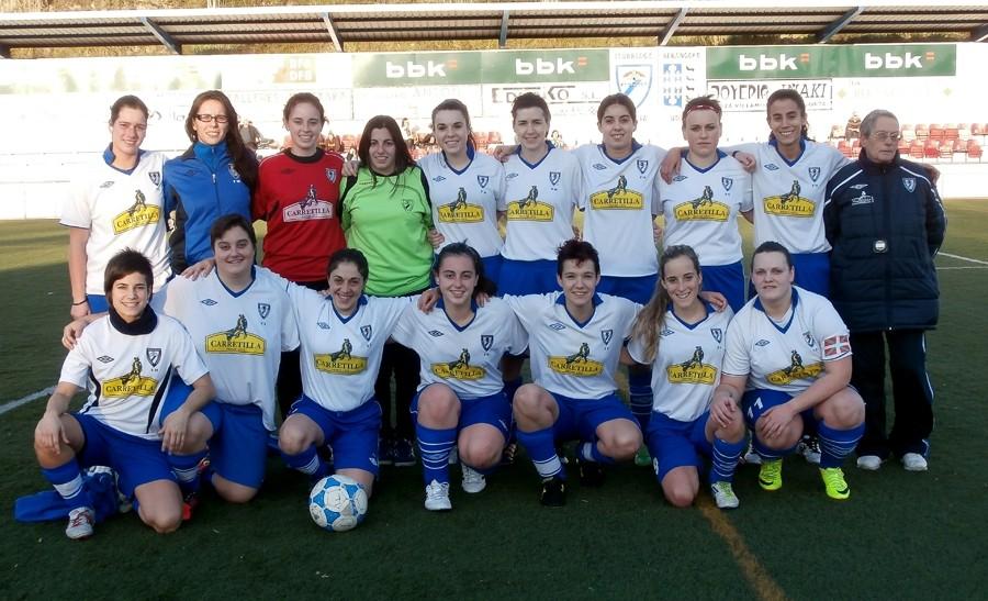 Foto de la plantilla del Berango Futbol Taldea