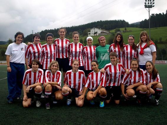 Foto de la plantilla del Club Deportivo Elgoibar