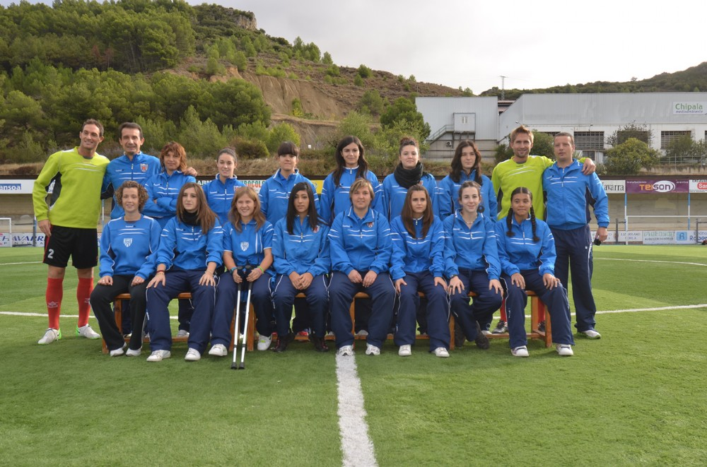 Foto de la plantilla del Club Deportivo Izarra