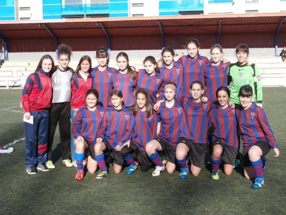 Foto de la plantilla del Cadete  del Leioako Emakumeak - Sarriena Futbol Kirol Elkartea