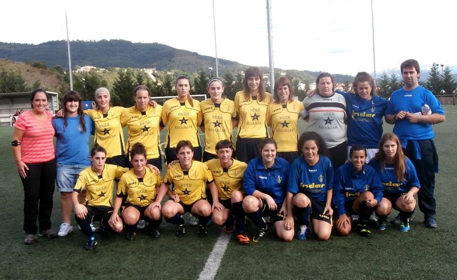 Foto de la plantilla del Club Deportivo Arratia