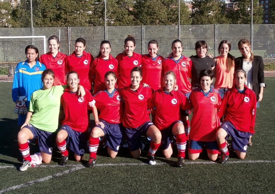 Foto de la plantilla del Santutxu Fútbol Club