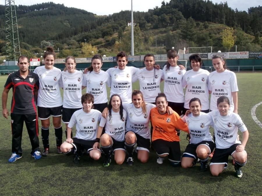 Foto de la plantilla del Club Deportivo Ugao