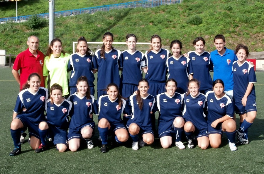Foto de la plantilla del Asociación Deportiva Berriotxoa B